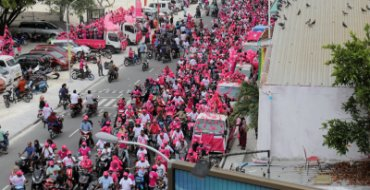 Maldives strongman eyes new term in controversial poll
