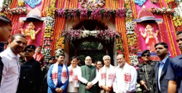 Congress' loss in Mizoram is BJP's gain; Shah upbeat
