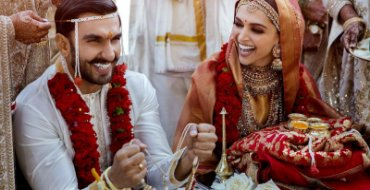 Wedding pictures of Deepika-Ranveer out after long wait