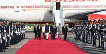 Modi attends Prez Solih's swearing-in ceremony