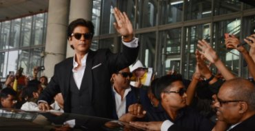 SRK impressed by Air India's service