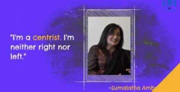 Sumalatha Ambareesh in conversation with DH