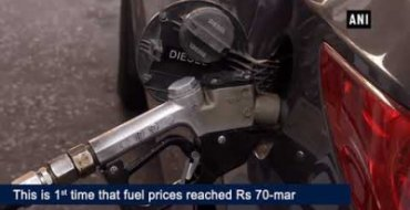 Petrol touches Rs 70-mark in Delhi