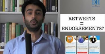 Are retweets and forwards equal to endorsements?
