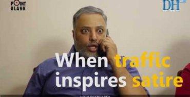When traffic inspires satire