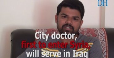 City doctor, first to enter Syria, will serve in Iraq