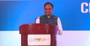 Sridhar Acharyulu speaks at DH Spotlight on RTI