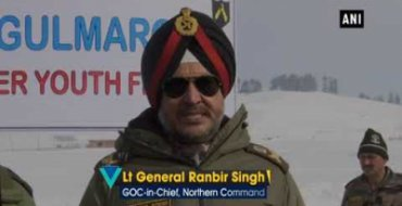 Indian Army organises Winter Youth festival in Gulmarg