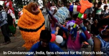 Fans tuned in to World Cup final across Asia