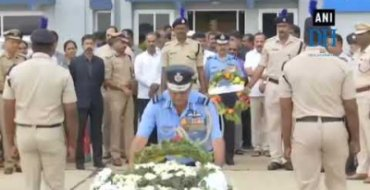 Kumaraswamy pays tribute to CRPF personnel H Guru