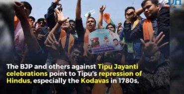 Why celebrate Tipu Jayanti?