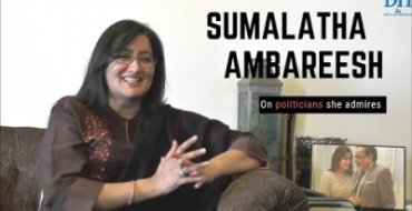 Sumalatha talks about her political idols