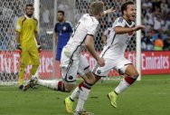 Goetze wins World Cup for Germany in extra time