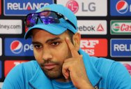 Hope Australia don't cross the line while sledging: Rohit