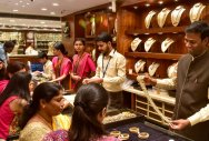 Jewellery stores are all set for Akshaya Tritiya sales. The festival falls on Wednesday.