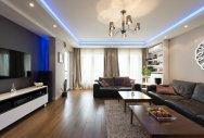 Homes and Interiors: Lights, colour & drama