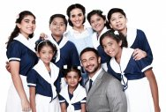 The new cast of Raell Padamsee's version of 'The Sound of Music'.