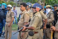 Eerie silence descends on AMU campus, heavy police deployment