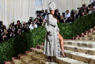 Fashion priestesses get holy at New York Met Gala