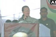 Modi govt undid Cong's good work, says Sonia