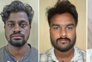 Four, including film director, held for blackmailing couple