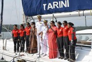 Navy's all-women crew circumnavigating the globe