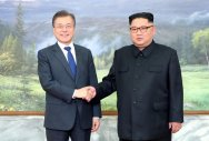Korean leaders meet after Trump threatens to quit Kim summit