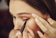 Eye make-up can cost you your sight
