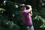Woods matches his lowest score of the year