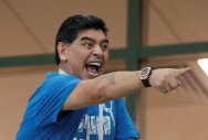 FIFA condemns Maradona comments about referee