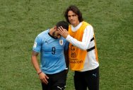 Teary Uruguay exit World Cup dreaming of next one