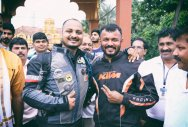 2 bikers to cover 13,560 km in 40 days
