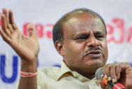 In photo: Chief Minister H D Kumaraswamy. PTI photo.