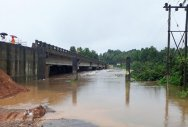 Hosamata bridge inundated again