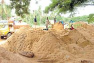 Illegal sand mining detected at Adyar