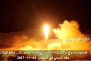 One dead  as Saudi intercepts Yemen rebel missile