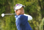 Sriroj soars to the top with nine-under