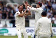 English pacers sink listless India