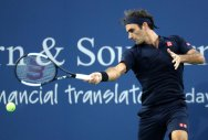 Federer opens with win, Kvitova ousts Williams