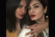 Priyanka Chopra snapped with 'engagement ring'?