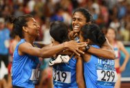 Women's 4x400m relay team wins gold for fifth time