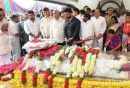 Harikrishna cremated with state honours