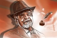 V S Naipaul, on writing: 'Fiction Never Lies'