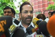 Congress a sinking ship of corruption: Naqvi