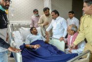 Hardik discharged but continues indefinite fast