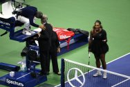 Serena's US Open implosions