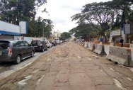 White-topping near Kadugodi Rd leaves commuters in fix