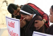 Will end stir only after bishop's arrest,say protesters