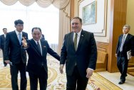 Pompeo in Pyongyang to seek nuclear commitments