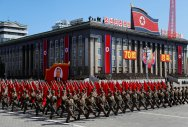 North Korea holds 70th anniversary parade without ICBMs